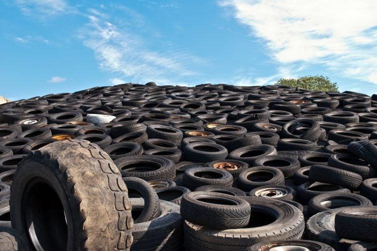 Maioria dos pneus recolhidos em 2016 foram reciclados