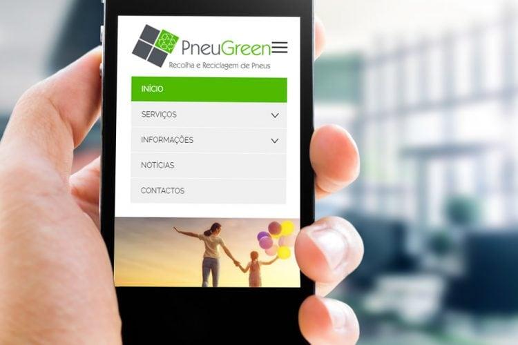 PneuGreen lança novos sites